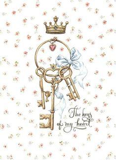 The keys of my heart