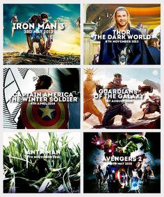 Avengers movies release dates!!!