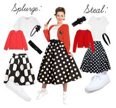Here is Sock Hop Outfit Ideas Picture for you. Sock Hop Outfit Ideas how to dress for a sock hop. Sock Hop Outfit Ideas pin on 1950 Outfits, Vintage Outfits, Sock Hop Outfits, Cute Outfits, Rockabilly Fashion, Retro Fashion, Sock Hop Costumes, Grease Costumes, Grease Outfits