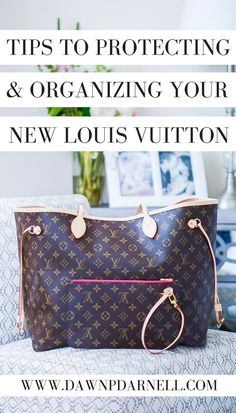 582a8bfb6f1d How to Protect and Prep Your New Louis Vuitton Bag - Unboxing Video