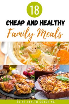 Are you looking for budget friendly family meals? I've got a ton of healthy and cheap recipes for your family to try. #cheapmeals #cheaprecipes #healthyrecipes #healthycheapmeals #familymeals #largefamilymeals #chickenmeals #budgetrecipes #frugalrecipes Herb Recipes, Real Food Recipes, Healthy Recipes, Large Family Meals, Healthy Family Meals, Potluck Recipes, Fall Recipes, Peas And Bacon Recipe