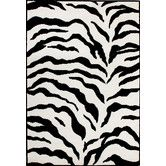Earth Zebra ROUND RUG