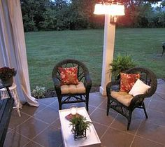 Staining your concrete patio to look like tile. :: Hometalk