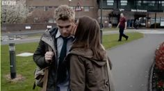 Maddy and Rhydian from #Wolfblood