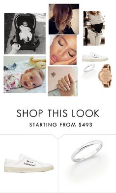 """""""Rehab"""" by paukar ❤ liked on Polyvore featuring Yves Saint Laurent, De Beers and Michael Kors"""