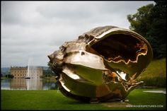 Mark Quinn's giant shell