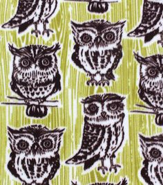 The JOANN online fabric shop has a large selection of fleece fabric by the yard in variety of styles, colors and patterns, for sewing or quilting. Owl Fabric, Fleece Fabric, Fabric Crafts, Diy Crafts, Online Craft Store, Craft Stores, Knitted Owl, Fabric Shop, Joann Fabrics