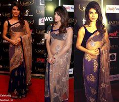 Priyanka Chopra in #ManishMalhotra #SAIFTA 2103 - http://www.celebrityfashion.in/priyanka-chopra-in-manish-saifta-awards-2013/