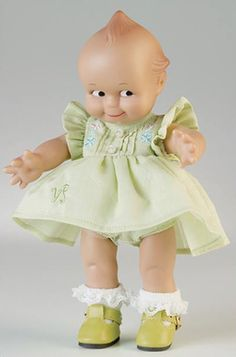 Kewpie doll  period perfect dress