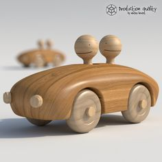 3d model wooden toy couple