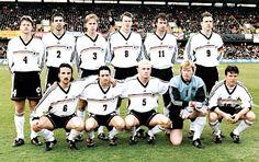 EQUIPOS DE FÚTBOL: SELECCIÓN DE ALEMANIA contra Irlanda del Norte 27/03/1999