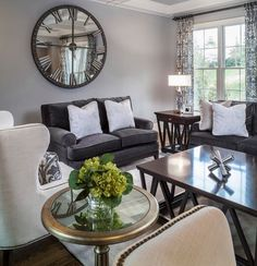 An Inside Look: Living Room by Lauren Nicole Designs Cheap Living Room Sets, Beige Living Rooms, Living Room White, Living Spaces, Clearance Outdoor Furniture, Best Outdoor Furniture, Living Room Furniture, Home Furniture, Furniture Design
