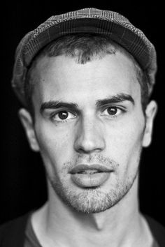 Theo James: swoon. Why do his lips look so inviting in this picture?