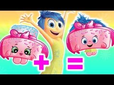 We mashed up the Shopkins with the characters of Inside Out!