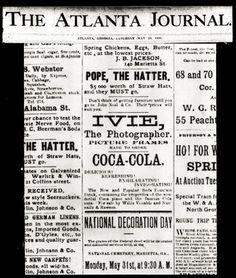 [Coke Code 281]전 세계 어디서나 만날 수 있는 코카-콜라는 1886년 첫 탄생했죠. 1886년 애틀란타의 한 신문에 실린 최초의 광고를 소개합니다. Delicious! Refreshing! 127년이 지난 지금도 동의하시죠? ^^