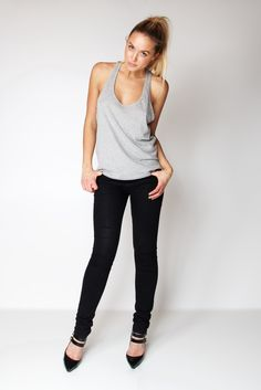 Tanktop / Heather Grey