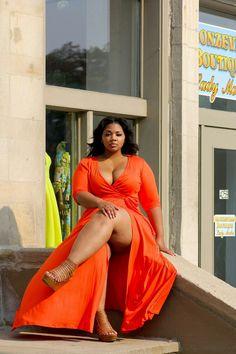 damshefine — Kamora Owens….natural thick beauty Curvy Plus Size, Plus Size Model, Curvy Fashion, Plus Size Fashion, Girl Fashion, Vogue, Full Figured Women, Me Gustas, Plus Size Outfits