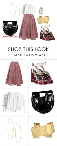 """""""THE MEAN GIRL"""" by myownflow ❤ liked on Polyvore featuring Tome, Marco de Vincenzo, Caroline Constas, Lana, Isabel Marant and Kenneth Jay Lane"""
