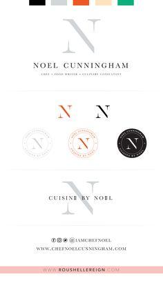 Chef Noel Cunningham | Cuisine by Noel Re-branding by Roushelle Reign Chef Recipes, Reign, Writer, Branding, Noel, Kitchens, Brand Management, Writers, Brand Identity