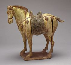 Funerary Sculpture of a Horse  China  Middle Tang dynasty, about 700-800