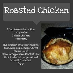 Tupperware stack cooker chicken recipe