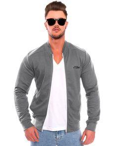 Flex Zip Jacket - Grey