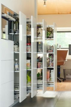 Kitchen: pull out pantry