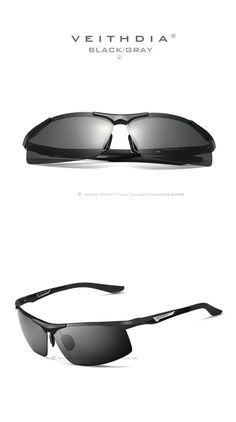 VEITHDIA 6562 - Sunglasses Polarized Sunglasses, Mens Sunglasses, Eye Damage, Light Rays, Color Lenses, Prescription Sunglasses, Blue Mirrors, Look Cool, Ultra Violet