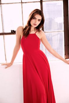 Mythical Kind of Love Red Maxi Dress 2