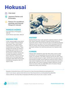 Resources - The Art of Education University Art History Lessons, Art Lessons For Kids, Artists For Kids, Art Doodle, Art Handouts, Art Du Monde, Online Art Classes, Art Cart, Art Worksheets
