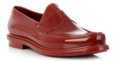 YSL RUBBER LOAFERS
