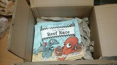 The first new stock of GLUE edition Reef Races have just arrived :-) Toy Chest, Childrens Books, Storage Chest, Racing, Toys, Decor, Children's Books, Running, Activity Toys