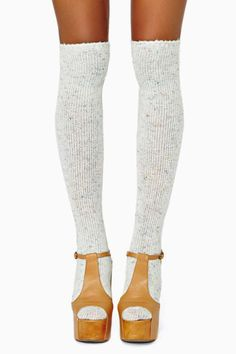 Funfetti Knee High Socks