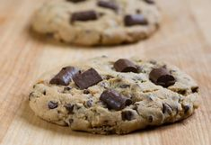 Salted Caramel Chocolate Chunk Cookies - Framed Cooks