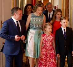 King Abdullah and Queen Rania start state visit to Belgium