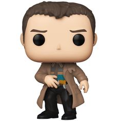 His story isn't over yet, and fans can now bring Deckard home with Funko Pop Blade Runner. The stylized set features figures for the 1982 original and 2017 sequel. Rick Deckard, Pop Vinyl Figures, All Movies, Movie Tv, Display Boxes, Image Shows, Blade Runner 2049, Funko Pop Vinyl, Artwork
