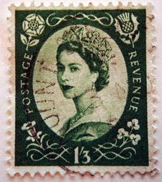 Queen Elizabeth Stamp