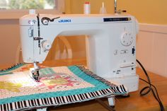 "This ""Let's Talk"" series focuses on sewing machine recommendations for the quilter. You'll find an overview of sewing machine companies and Julie's personal experience with 5 different brands. Sewing Machine Quilting, Sewing Machine Reviews, Quilting Room, Easy Sewing Projects, Sewing Hacks, Sewing Tutorials, Sewing Patterns, Sewing Tips, Sewing Ideas"