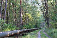 Středem Doubravy vede plynové potrubí