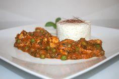 https://flic.kr/p/BcsTq7   35 - Chicken Palak - Side view / Seitenansicht   [Rezept / Recipe]