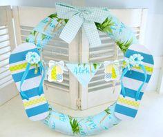 Pool Noodle Wreath Tutorial {a diy craft}