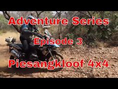 Piesangkloof Trails, situated just outside Hartbeespoort Dam in the Magalies Mountains turned out to be an Adventure the Off Course convoy would neve. Bmw Adventure Bike, 3 Bmw, Bike Rider, Episode 3, 4x4, Shit Happens, Youtube, Youtubers, Youtube Movies