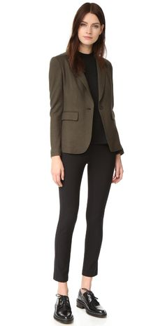 Rag & Bone Simone Pants - Business Outfits for Work Blazer Outfits Casual, Business Casual Outfits, Business Fashion, Business Attire, Office Outfits, Sweater Outfits, Casual Shoes, Cute Work Outfits, Stylish Outfits