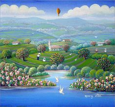 """naive art"" by Henry Vitor"