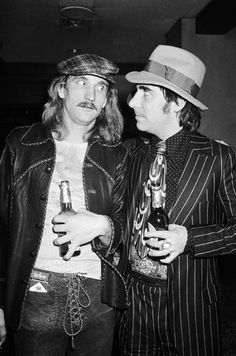 """""""One of the scariest things that ever happened to me was that Keith Moon decided he liked me""""  Joe Walsh    ...1975"""
