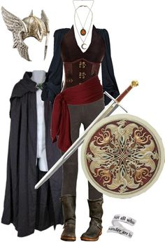 """""""The Female Warrior"""" by ltspork ❤ liked on Polyvore"""