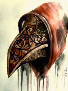 """plague doctor"" | KellytheUnicorn on deviantART"