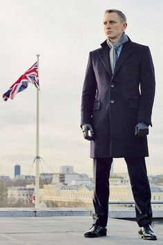 James Bond's My London - ES Magazine - Life & Style - London Evening Standard See J. Hilburn's James Bond Style Northeastern Overcoat for $595 at www.elizabethblanchard.jhilburn.com