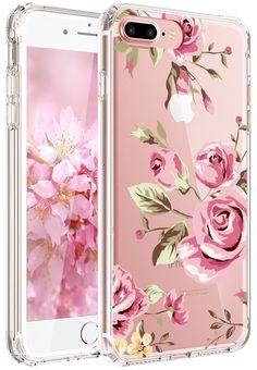 coque iphone 8 silicone fleurs