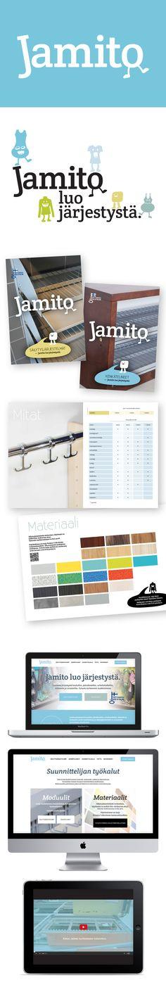 Asiakas: Jamito Avainsanat: yritysilme, logosuunnittelu, värimaailma, typografia, graafiset elementit, verkkosivuston suunnittelu, HubSpot, responsive web, yritysvideo Shopping